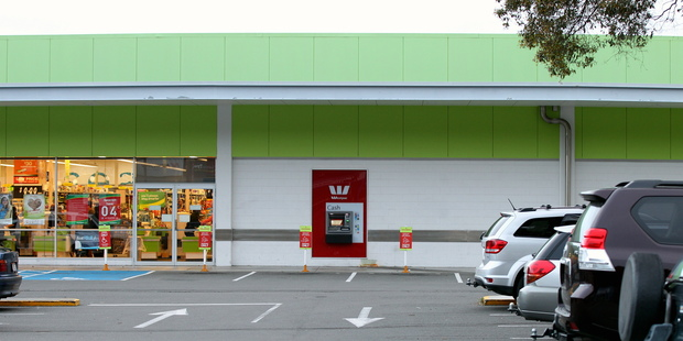 An elderly couple were robbed after withdrawing cash from a Westpac ATM on Tuesday morning. Photo / Duncan Brown
