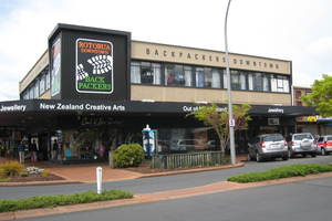 The backpackers is centrally situated at 1189-1193 Fenton St, Rotorua.