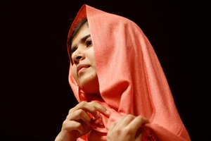 Malala Yousafzai has spearheaded a campaign embraced by world leaders and celebrities. Photo / AP