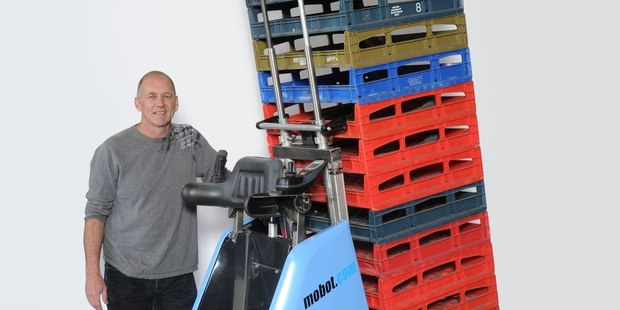 Steve Haythorne says his Mobot can save firms thousands.
