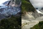 Franz Josef Glacier. Photo / Greymouth Star