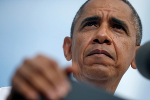 Barack Obama's second term as president has been nowhere near as successful as his first. Photo / AP