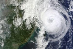 Cyclone Fitow. Photo / AFP via NASA