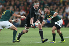 Kieran Read had the complete performance against the Springboks on Sunday. Photo / Getty Images
