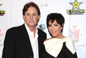 Kris and Bruce Jenner. Photo / Getty Images