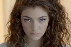 Lorde in a still from her video for Royals.