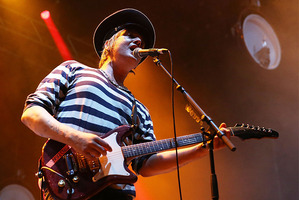 Pete Doherty of Babyshambles performs at Spendour in the Grass. Photo / Getty Images
