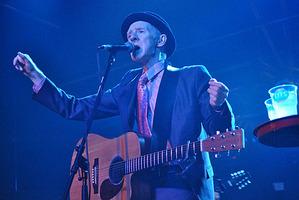 Philip Chevron performing in 2010.