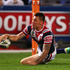 Shaun Kenny-Dowall scores for the Roosters. Photo /Getty Images