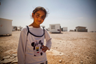 Photo: Simon Rawles/OxfamFarah Abd Latif, 10, and her family fled the conflict in Syria and are now living in Jordan's Zaatari refugee camp.