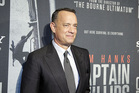 Tom Hanks on the red carpet at a screening for the movie Captain Phillips in Washington. Photo / AP