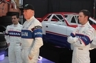 Nissan Motorsport drivers Michael Caruso and Daniel Gaunt will wear race suits matching those worn by Kiwi Jim Richards and Mark Skaife back in the early 1990s.