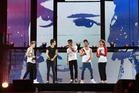 One Direction concert at Vector Arena , October 12th 2013, Herald on Sunday photograph by Norrie Montgomery