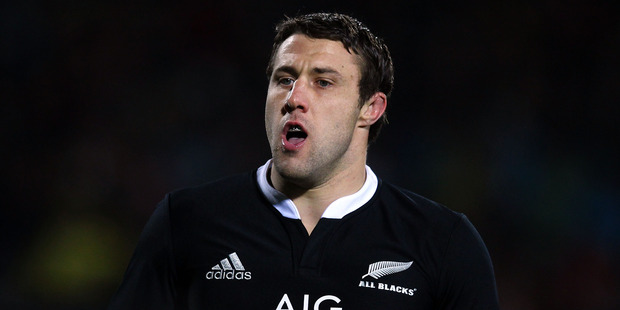 Jeremy Thrush of the All Blacks. Photo / Getty Images