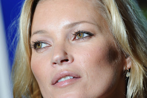 Kate Moss has been on the cover of British Vogue 33 times.Photo / AP