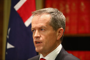 Labor party leader Bill Shorten. Photo / Getty Images