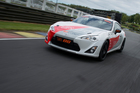 Toyota TR86 on track