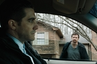 Jake Gyllenhaal and Hugh Jackman star in Prisoners.