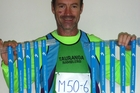 Bruce Solomon won gold in all 10 events he entered at the South Island Masters Games in Nelson. Photo / Supplied