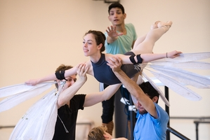 Tutus on Tour gives younger members of the ballet company a chance to get to grips with new and challenging dances.
