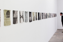 Paul Lees' 'Washcloth Stills'.