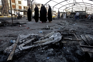 Iraq is losing around a thousand lives a month to terrorist bombings. Photo / AP