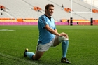 Richie McCaw has been sidelined with a calf injury and may now have to go to Japan for game time. Photo / Getty Images