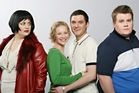 The cast of popular British comedy Gavin and Stacey. PHOTO/SUPPLIED