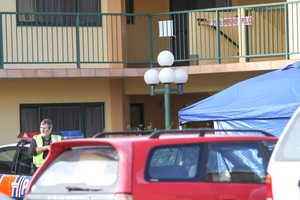The motel remained open during the investigation.