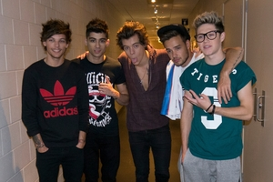 Boy band One Direction sparked a frenzy when they performed in Auckland last weekend.  PHOTO/FILE