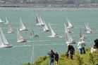 North Head is a popular spot to watch the start of the Coastal Classic Yacht race. Photo / Christopher Weissenborn