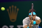 Argentinian Juan Martin del Potro's attacking game overpowered the world No1. Photo / AP