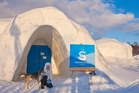 From nature it was created - and back to nature it will return. The life cycle of the Kirkenes Snowhotel is environmentally friendly. Photo / Helge Sterk
