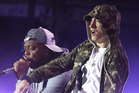 Eminem's new song has been criticised by a gay rights charity. Photo / AP
