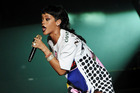 Rihanna tweets have been acted on by Thai police. Photo / AP