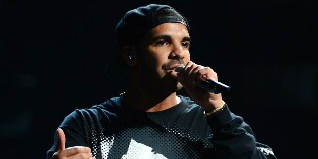 Drake is allegedly feuding with his support act, rapper Future. Photo / AP