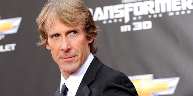 Michael Bay has been injured while shooting the new Transformers film. Photo / AP