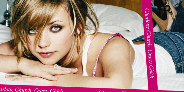 Charlotte Church on the cover of one of her early singles.
