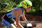 Wanaka mum Gina Crawford enjoyed another top-10 finish but it proved no fairytale debut for Bevan Docherty at the ironman world championships in Hawaii today. Photo / Getty Images.