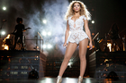 Beyonce performs on her Mrs Carter Show World Tour at Vector Arena in Auckland, New Zealand. Photo / Rob Hoffman