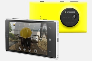 The Nokia Lumia 1020.