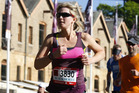 Rachel Grunwell taking part in the Blackmores Sydney Running Festival.