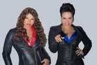 The queens of Queens, Cheryl James, left, and Sandra Denton, are back in New Zealand.