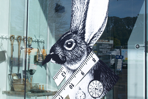 Front window of the new Father Rabbit store in Mt Eden. Photo / Ben Crawford