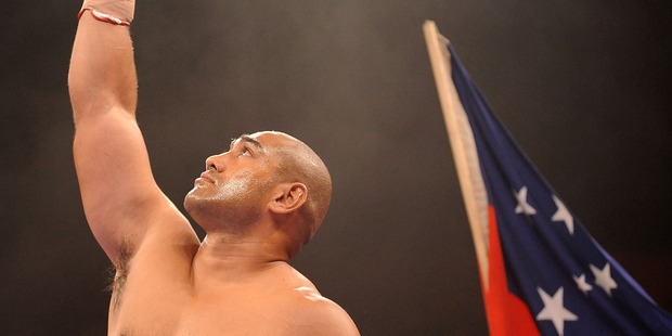 Alex Leapai is due here next week. Photo / Getty Images