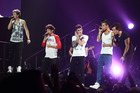 One Direction performing at Vector Arena in Auckland. Photo / Norrie Montgomery