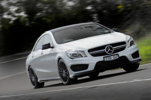 The Mercedes-Benz CLA 45 AMG has just been launched in New Zealand, with a price tag of $107,900.