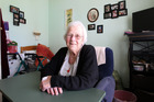 Ranfurly Village resident Shirley Torrie pictured in her room in the older part of the care home. Photo / Chris Gorman