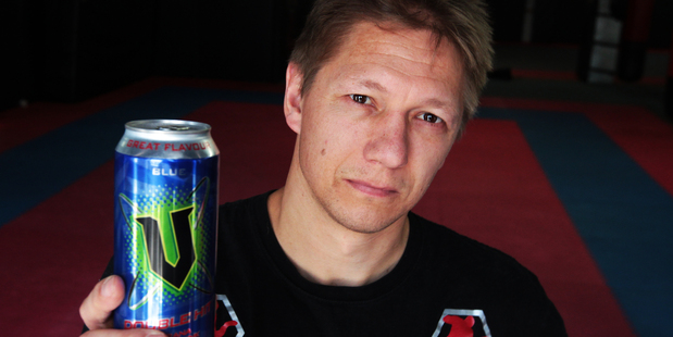 Mike Angove thinks energy drinks should have an age restriction. Photo / Doug Sherring