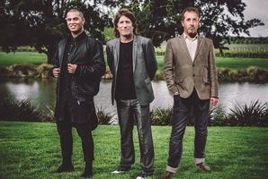 Stan Walker (left) will be joined by the Exponents' Jordan Luck and Breaks Co-Op's Andy Lovegrove on the 2014 Classic Hits Winery Tour.